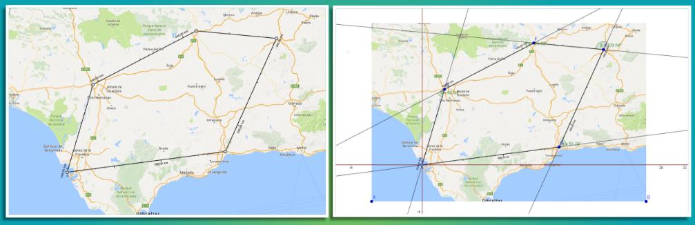 #CarnaMat82 El vuelo del drone matemático